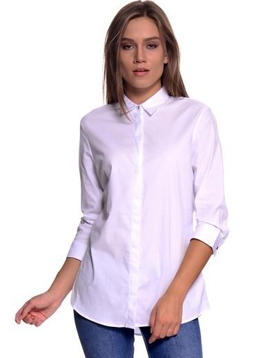 Limon Company Klasik Gömlek Beyaz